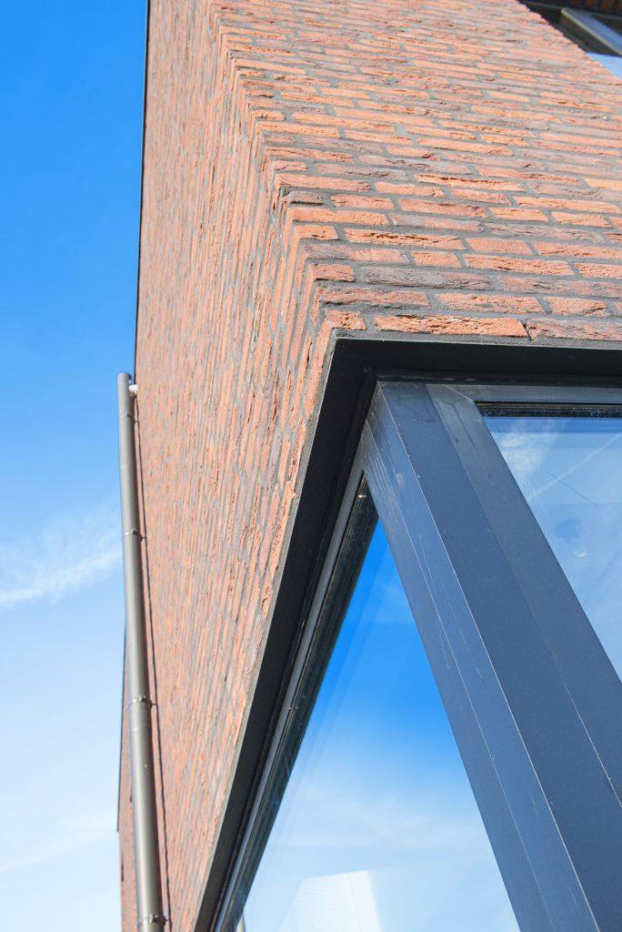 Moderne woning detail